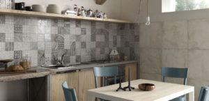 Дизайн кухни в стиле пэчворк
