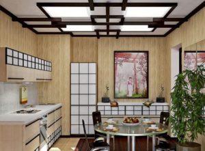 Дизан кухни в японском стиле