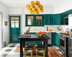 Кухня в эклектичный стиль