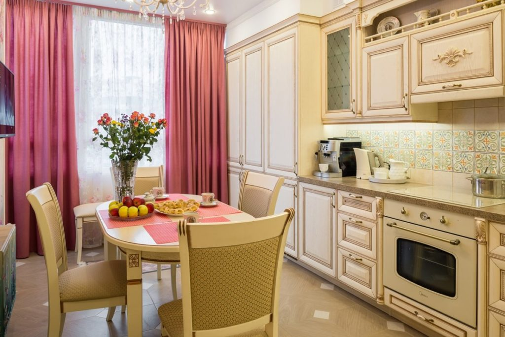 Кухня прованс для маленького помещения