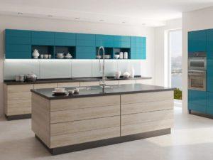 Кухня в современном стиле минимализм