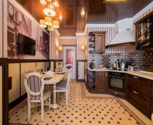 Кухня в традиционном английском стиле