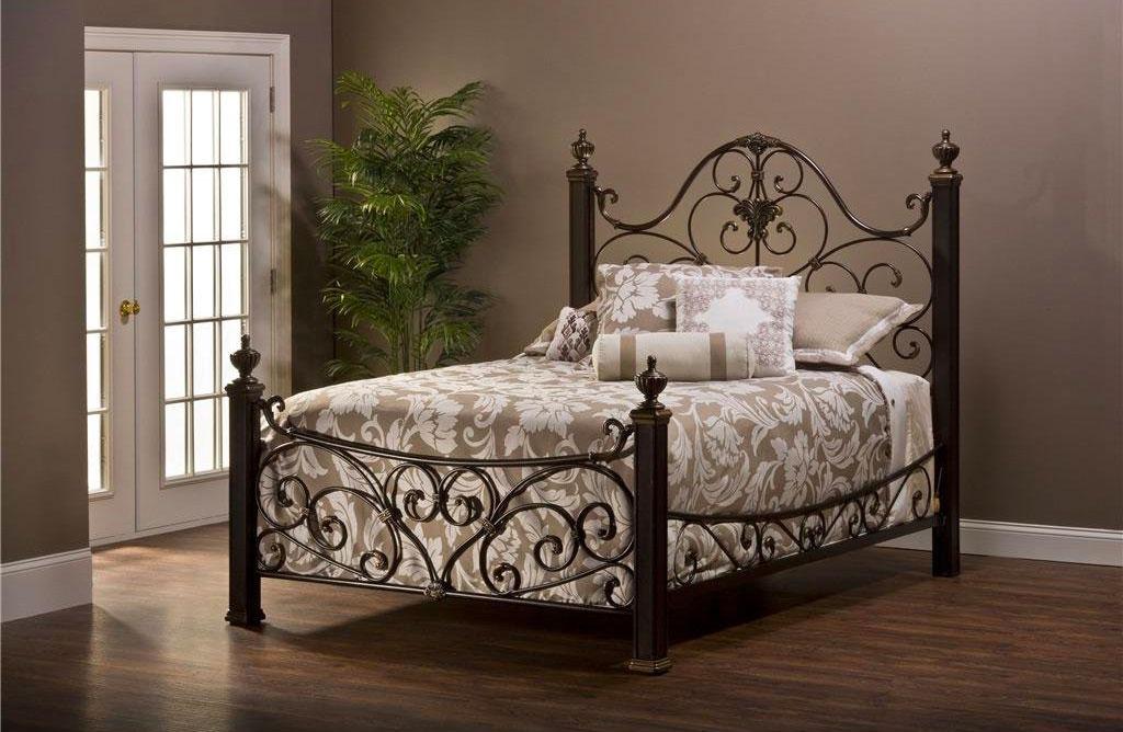 Мебель из металла кровать