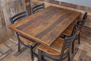 Набор стол и стул для кафе и ресторана