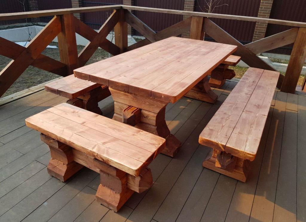 Садовая мебель для частного дома