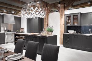 Современная кухня в неоклассическом стиле