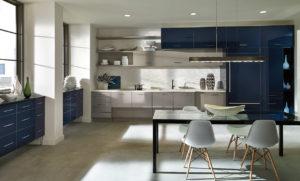 Удобная кухня в стиле контемпорари