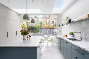 Кухня лофт в светлых тонах