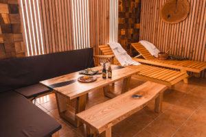 Мебель из слэба для бани