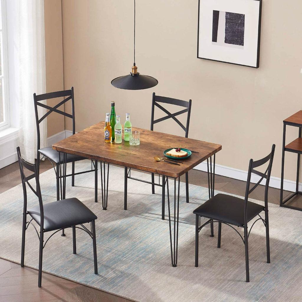 Обеденный столик дизайн интерьера минимализм