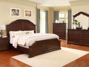 Спальня деревянная мебель из массива тополя