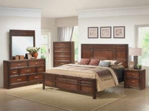 Спальня мебель из массива ореха