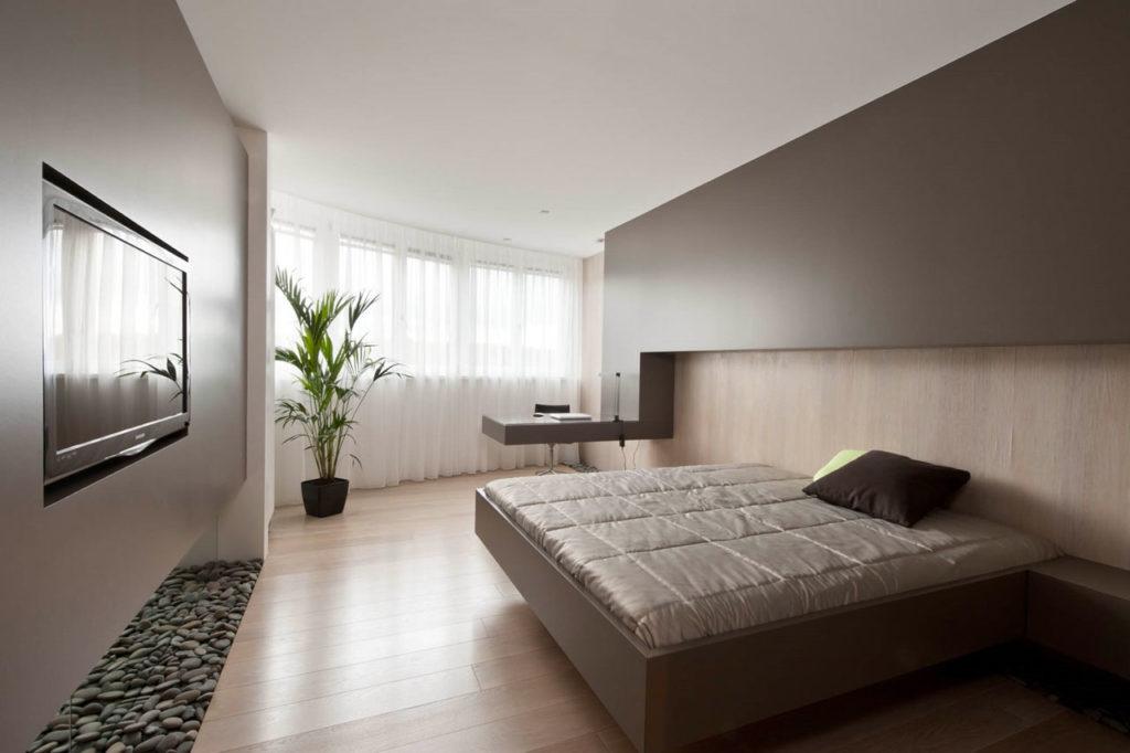 Сплаьня в стиле минимализм для гостиницы