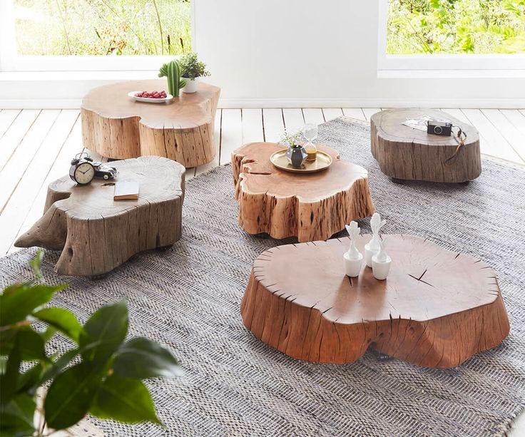 Мебель из пней для дачи
