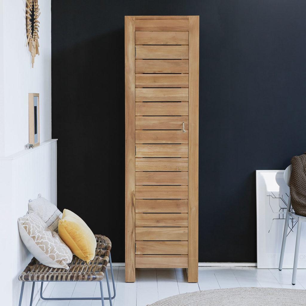 Деревянный шкафчик из тика